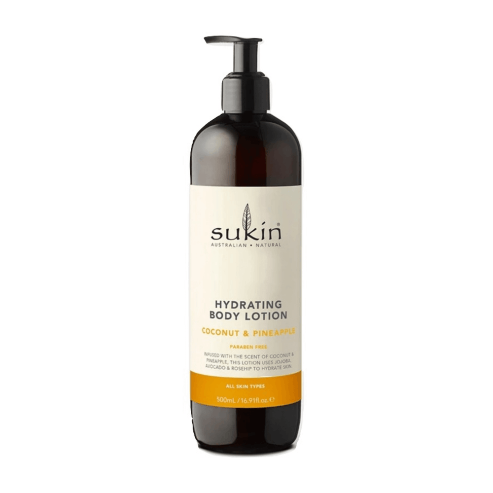 Sukin Hydrating Body Lotion Coconut & Pineapple 500mL — herbesthealth