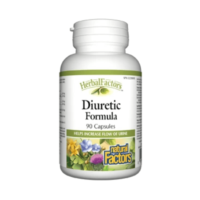 Natural Factors Diuretic Formula 90 Caps — herbesthealth