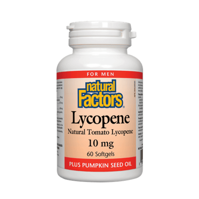 Natural Factors Lycopene 10mg 60 Softgels
