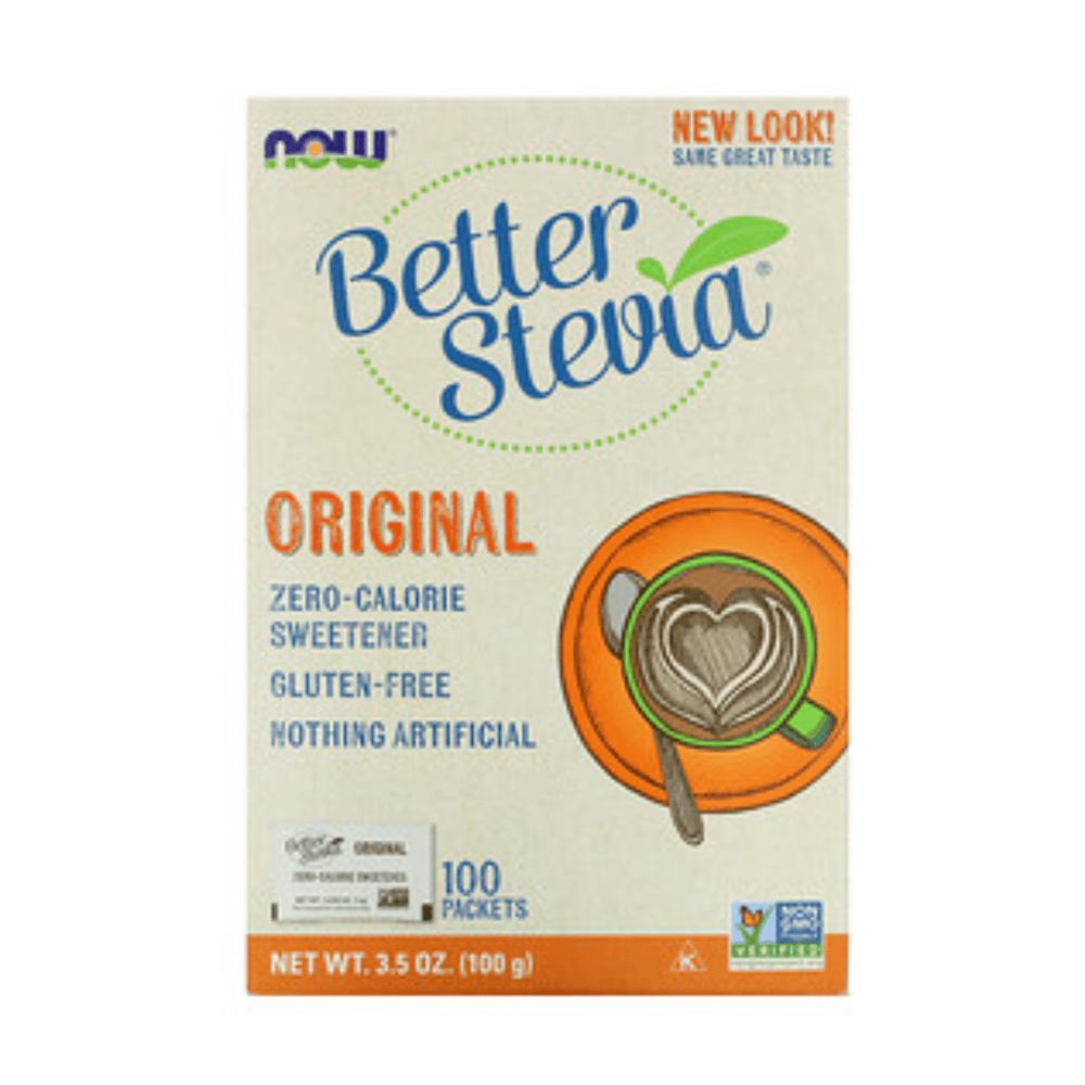 Now Better Stevia Original 100 Packets 100g