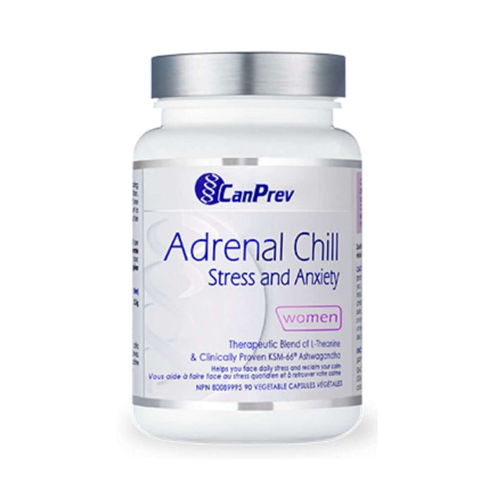 CanPrev Adrenal Chill Women 90 Caps - herbesthealth