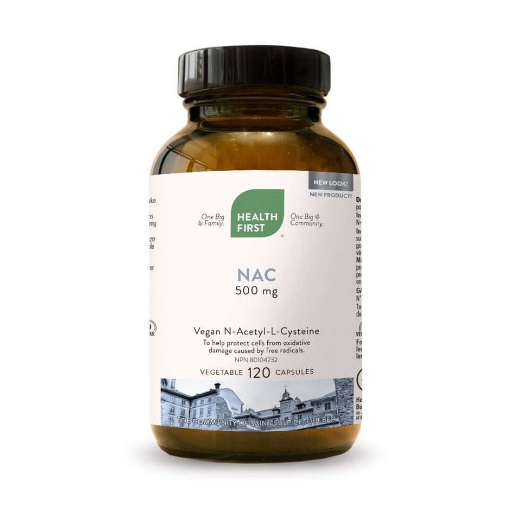 Health First NAC 120 Capsules