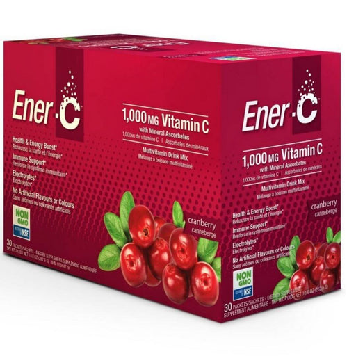Ener C 1000 mg Vitamin C Cranberry - herbesthealth