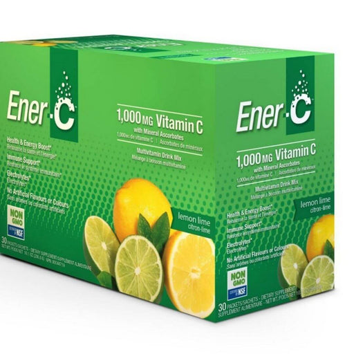 Ener C 1000 mg Vitamin C Lemon Lime - herbesthealth