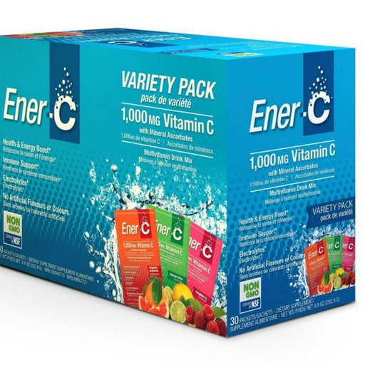 Ener C 1000 mg Vitamin C Variety Pack - herbesthealth