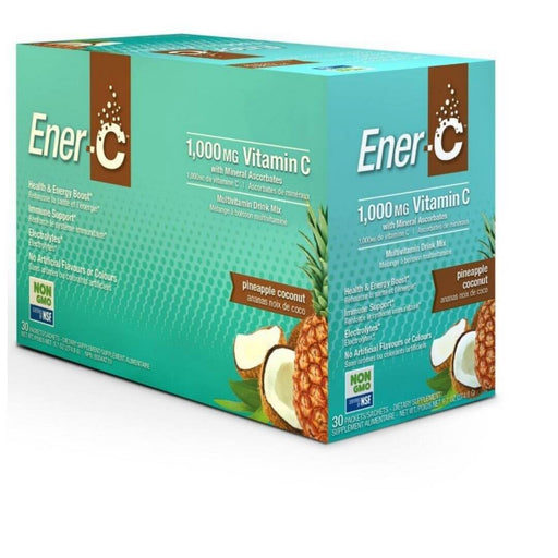 Ener C 1000mg Vitamin C Pineapple Coconut - herbesthealth