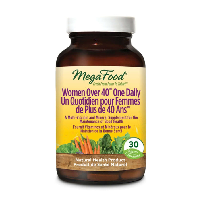 MegaFood Women 40+ One Daily 30 Tablets