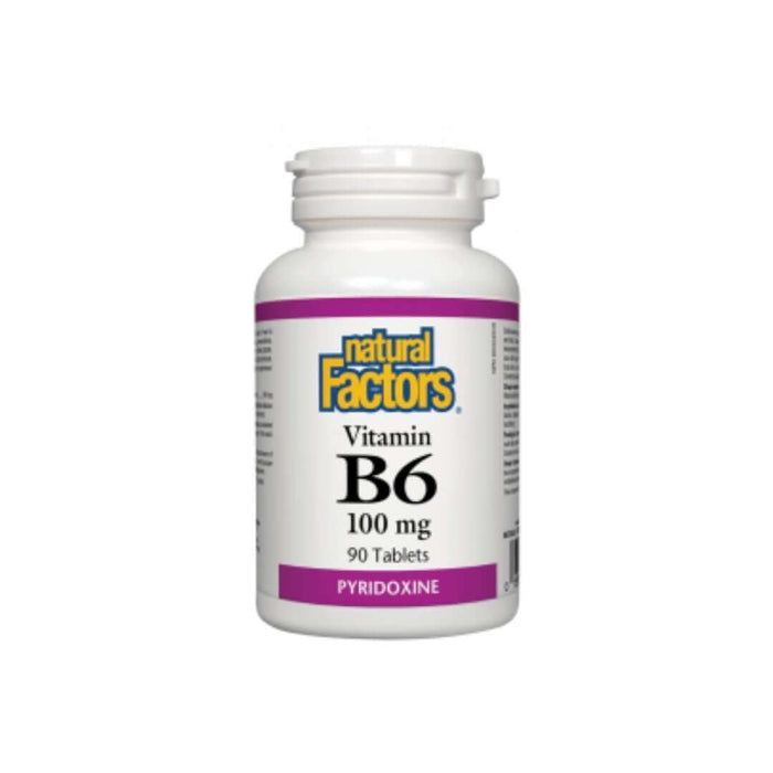 Natural Factors Vitamin B6 100mg — herbesthealth