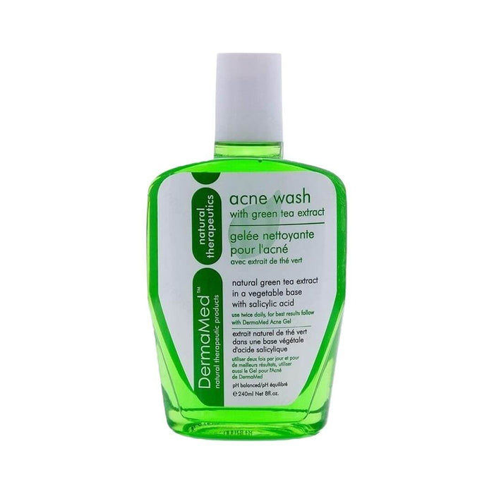 DermaMed Acne Wash with Green Tea Extract 240ml - herbesthealth