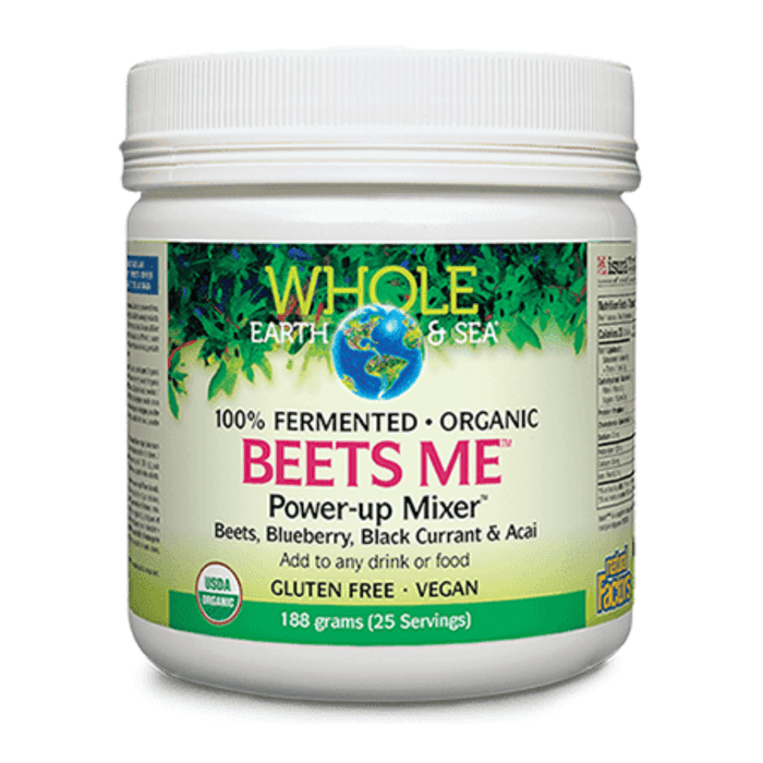 Whole Earth & Sea Beets Me Powder 188g — herbesthealth