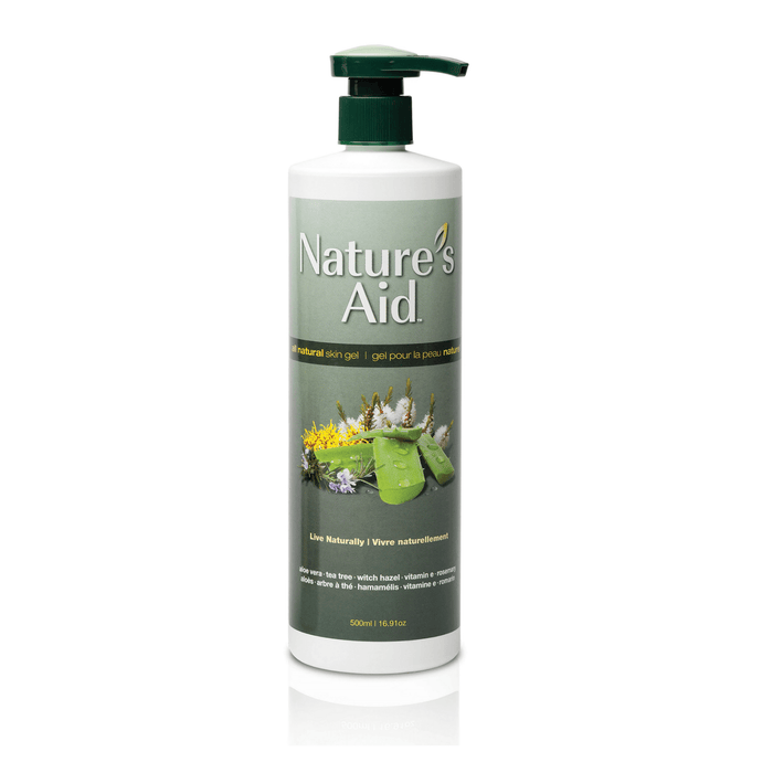 Nature's Aid All Natural Skin Gel 500ml — herbesthealth