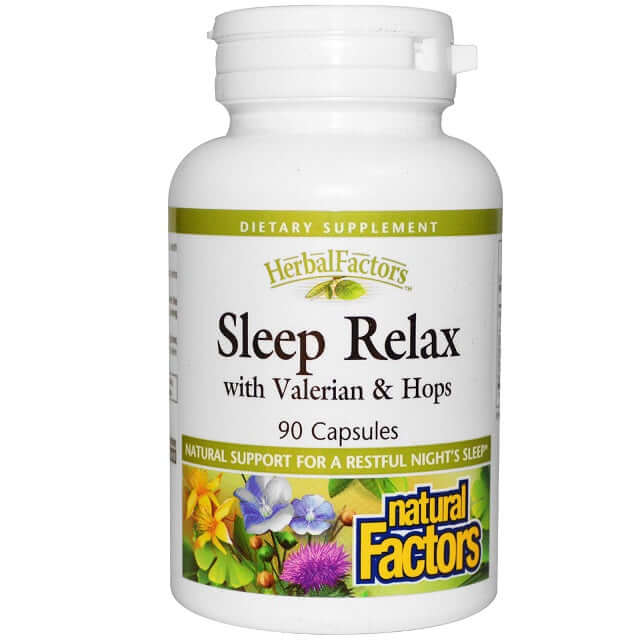 Natural Factors Sleep Relax Formula - herbesthealth