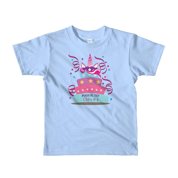 Kids Apparel - Magical Day Birthday CUSTOMIZABLE T-Shirt Little Kids - Fantastic Gifts