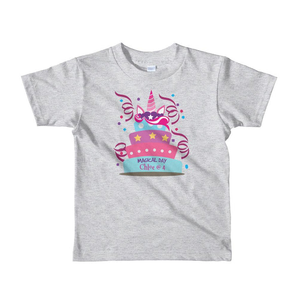 Magical Day T-Shirt For Little Kids Apparel Fantastic Gifts Heather Grey 2yrs
