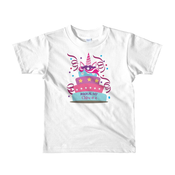 Magical Day T-Shirt For Little Kids Apparel Fantastic Gifts White 2yrs