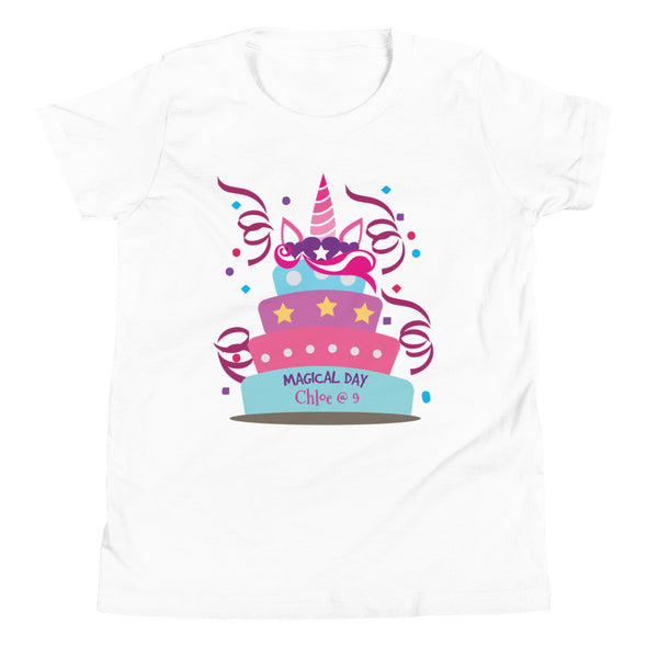 Kids Apparel - Magical Day Birthday CUSTOMIZABLE T-Shirt Big Kids - Fantastic Gifts