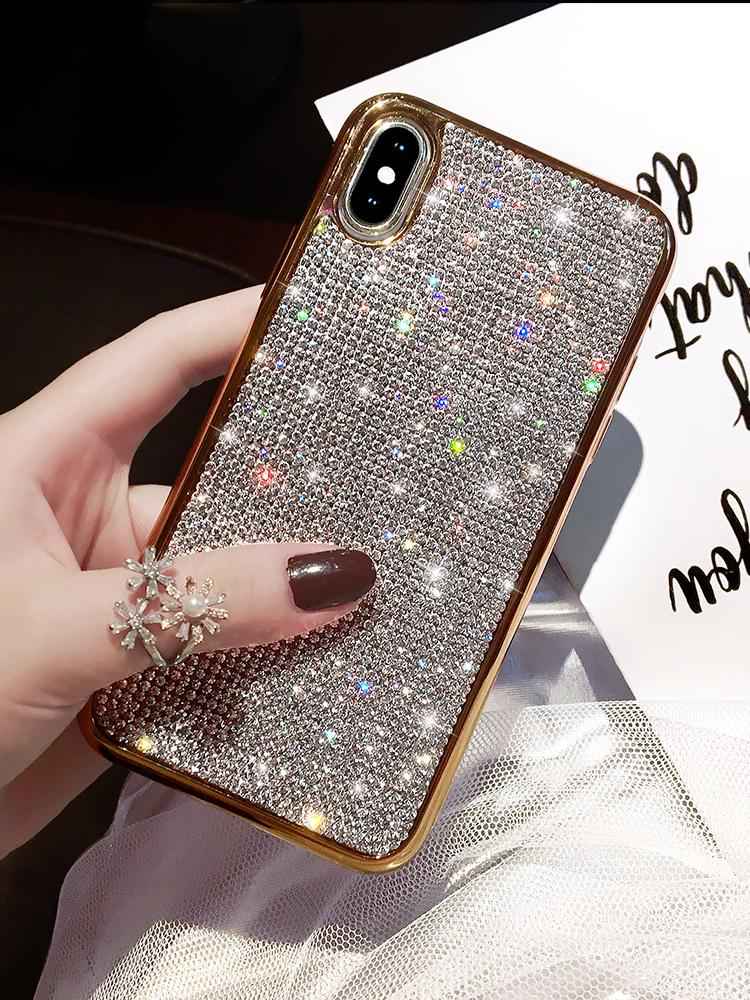 low priced 390f5 c9922 【Only $19.95 Today】2019 New Bling -Shaped Crystal iPhone Case With Grade