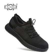 Load image into Gallery viewer, New exhibition breathable safety shoes men's Lightweight summer anti-smashing piercing work sandals Single mesh sneakers 35-46