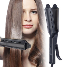 Load image into Gallery viewer, Ceramic Hair Straightener Flat Iron