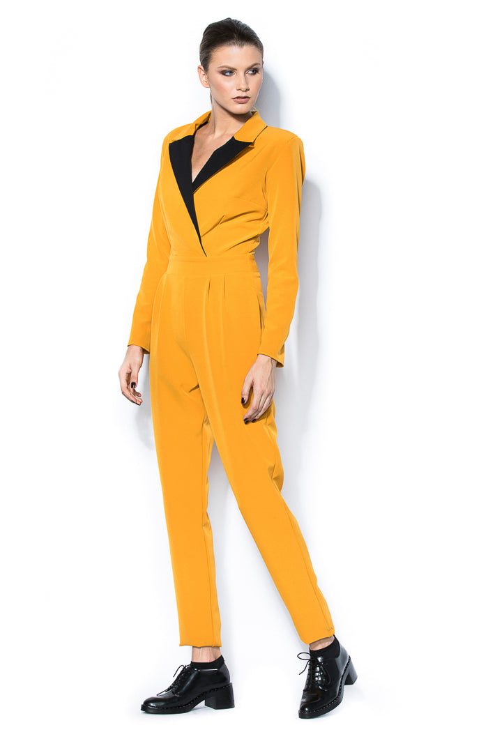 Blazer-type jumpsuit