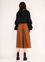 Culotte pants with pockets