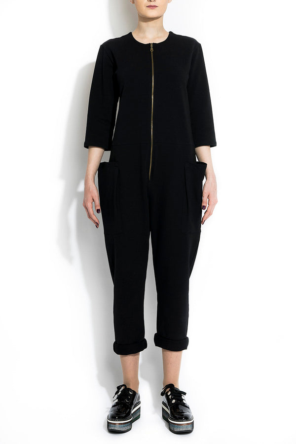 Salopeta ANDROGYNY woman black