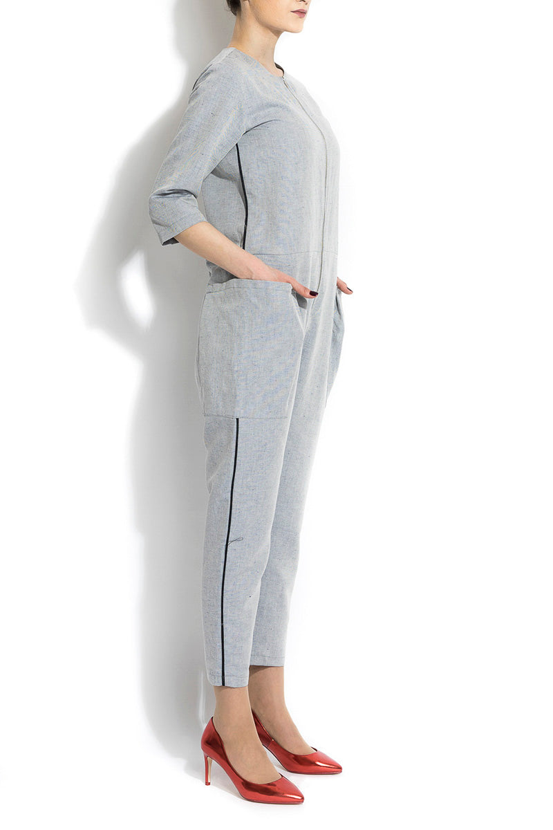 SALOPETA ANDROGYNY WOMAN GRAY IN