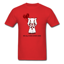 Load image into Gallery viewer, Kittywise (IT Inspired) Halloween T-Shirt - red