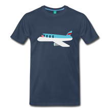 Load image into Gallery viewer, Flying Pig T-Shirt - navy