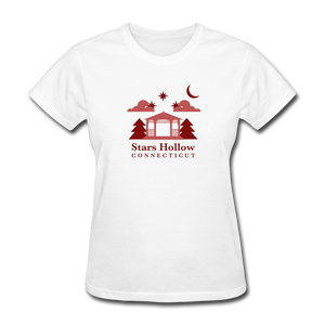 Star's Hollow (Gilmore Girls) Women's T-Shirt - white