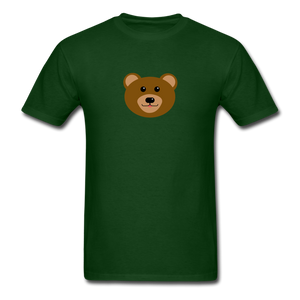 Cute Bear T-Shirt - forest green