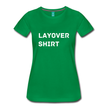 Load image into Gallery viewer, Layover Shirt Women's Cut - kelly green