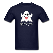 Load image into Gallery viewer, Boo-kake Halloween T-Shirt - navy