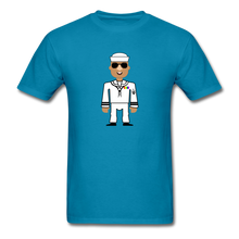Load image into Gallery viewer, Sailor Boy Men's T-Shirt - turquoise
