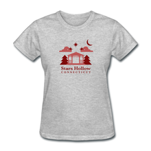 Load image into Gallery viewer, Star's Hollow (Gilmore Girls) Women's T-Shirt - heather gray