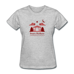 Star's Hollow (Gilmore Girls) Women's T-Shirt - heather gray