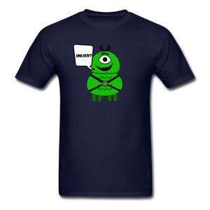 Flirty Alien T-Shirt - navy