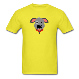 Puppy Power Pride T-Shirt - yellow