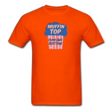 Load image into Gallery viewer, Muffin Top Cupcake Bottom Men's T-Shirt - orange