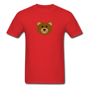 Cute Bear T-Shirt - red