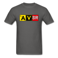 Load image into Gallery viewer, Aviator AvGeek T-Shirt - charcoal