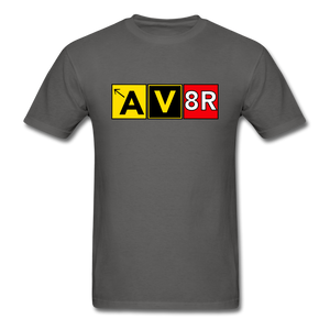Aviator AvGeek T-Shirt - charcoal