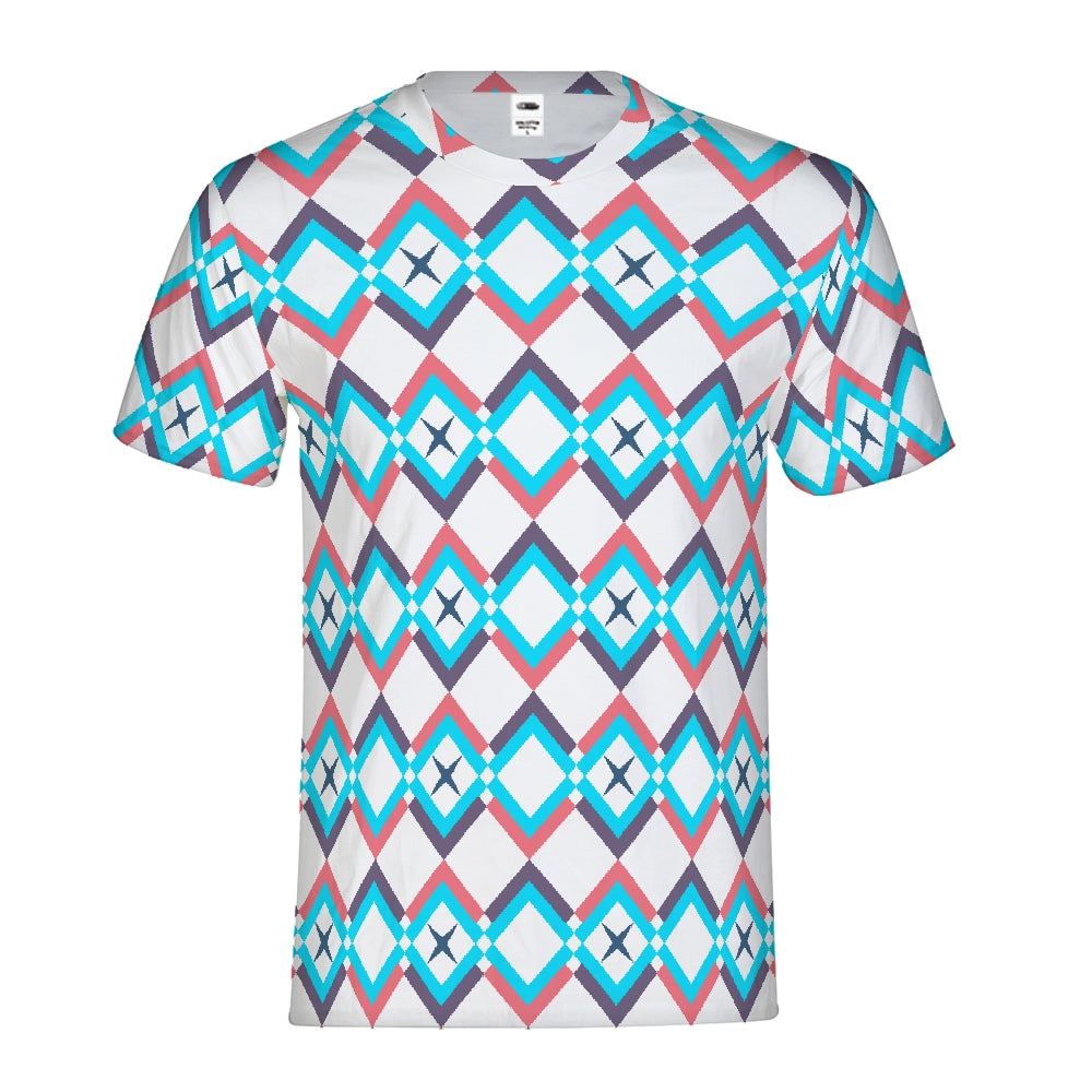 Transgender Pride Colors Geo Tee - BravoPapa Clothing