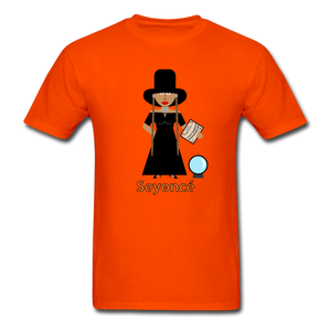 Seyoncé (Beyonce Inspired Halloween) T-Shirt - orange