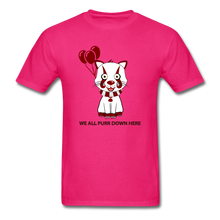 Load image into Gallery viewer, Kittywise (IT Inspired) Halloween T-Shirt - fuchsia