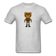 Load image into Gallery viewer, Muscle Bear T-Shirt . - heather gray
