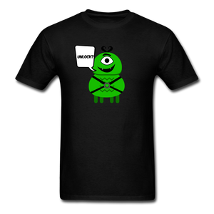 Flirty Alien T-Shirt - black