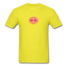 Load image into Gallery viewer, Pierced Pig T-Shirt - yellow