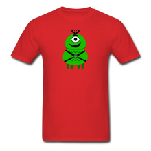 Load image into Gallery viewer, Alien Daddy T-Shirt - red