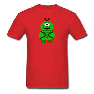 Alien Daddy T-Shirt - red